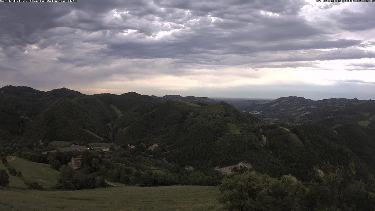 Casola Vasenio, verso San Rufillo